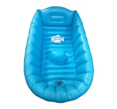 Banheira Inflável Para Bebê Com Termômetro Peixinho